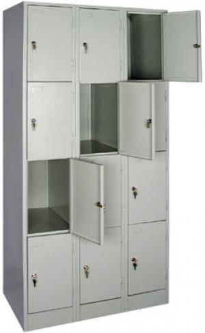 Шкаф металлический для сумок ШРМ - 312 купить на выгодных условиях в Москве