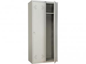 Шкаф металлический для одежды ПРАКТИК LS(LE)-21-80 купить на выгодных условиях в Москве