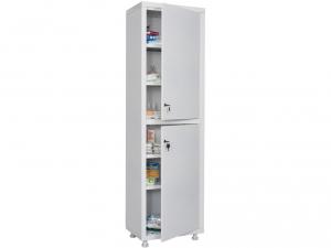 Металлический шкаф медицинский HILFE MD 1 1657/SS купить на выгодных условиях в Москве