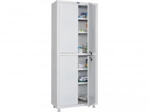 Металлический шкаф медицинский HILFE MD 2 1670/SS купить на выгодных условиях в Москве