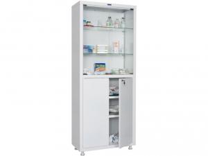 Металлический шкаф медицинский HILFE MD 2 1670/SG купить на выгодных условиях в Москве
