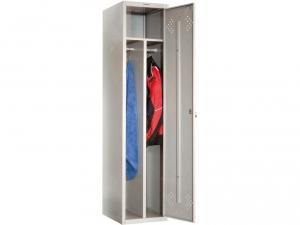 Шкаф металлический для одежды ПРАКТИК LS(LE)-11-40D купить на выгодных условиях в Москве