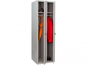 Шкаф металлический для одежды ПРАКТИК LS(LE)-21 купить на выгодных условиях в Москве