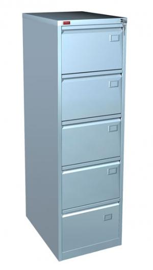 Шкаф металлический картотечный КР - 5 купить на выгодных условиях в Москве