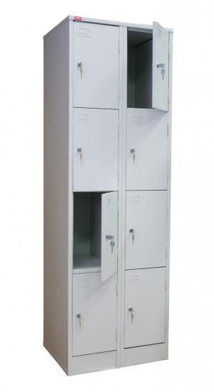 Шкаф металлический для сумок ШРМ - 28 купить на выгодных условиях в Москве
