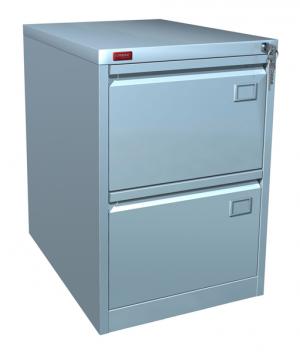 Шкаф металлический картотечный КР - 2 купить на выгодных условиях в Москве