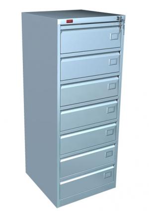 Шкаф металлический картотечный КР - 7 купить на выгодных условиях в Москве