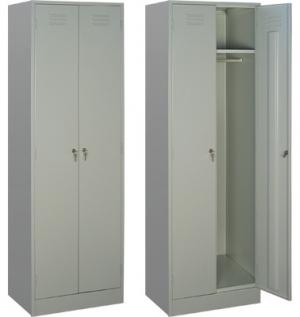 Шкаф металлический для одежды ШРМ - 22/800 купить на выгодных условиях в Москве