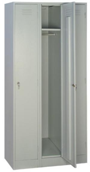 Шкаф металлический для одежды ШРМ - 33 купить на выгодных условиях в Москве