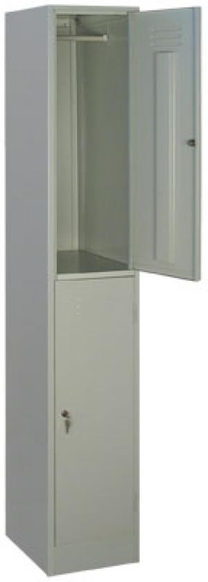 Шкаф металлический для одежды ШРМ - 12 купить на выгодных условиях в Москве