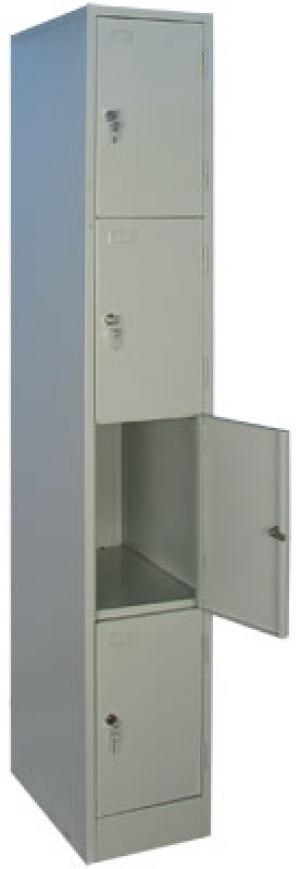 Шкаф металлический для сумок ШРМ - 14 купить на выгодных условиях в Москве