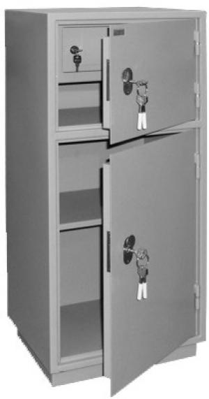 Шкаф металлический для хранения документов КБ - 042т / КБС - 042т купить на выгодных условиях в Москве