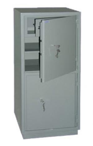 Шкаф металлический бухгалтерский КС-2Т купить на выгодных условиях в Москве