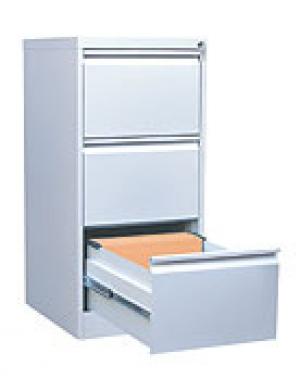 Шкаф металлический картотечный ШК-3 (3 замка) купить на выгодных условиях в Москве