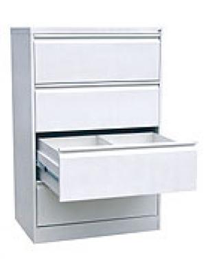 Шкаф металлический картотечный ШК-4-2 купить на выгодных условиях в Москве
