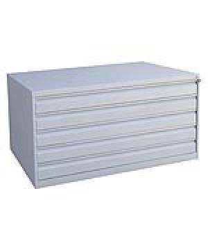 Шкаф металлический картотечный ШК-5-А0 купить на выгодных условиях в Москве