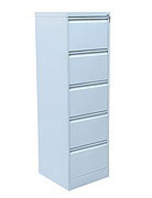 Шкаф металлический картотечный ШК-5 (5 замков) купить на выгодных условиях в Москве