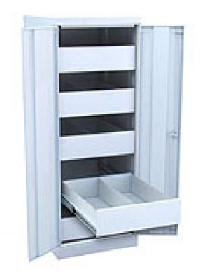 Шкаф металлический картотечный ШК-5-Д2 купить на выгодных условиях в Москве