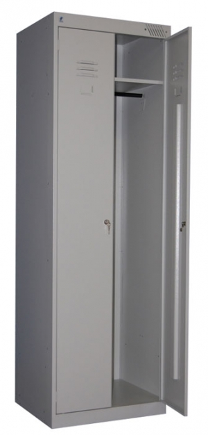 Шкаф металлический для одежды ШРК-22-600 купить на выгодных условиях в Москве