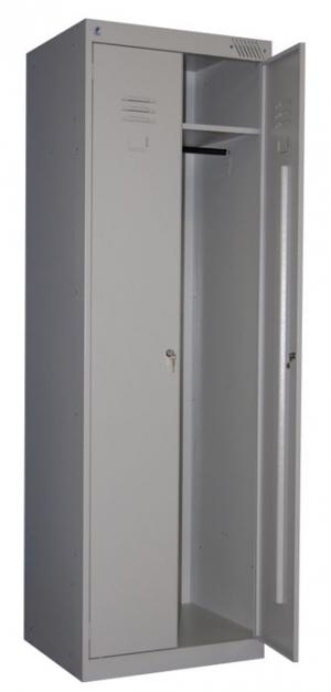 Шкаф металлический для одежды ШРК-22-800 купить на выгодных условиях в Москве