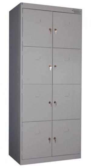 Шкаф металлический для сумок ШРК-28-800 купить на выгодных условиях в Москве