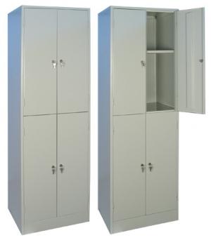 Шкаф металлический для хранения документов ШРМ - 24.0 купить на выгодных условиях в Москве
