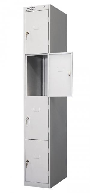 Шкаф металлический для сумок ШРС-14дс-300 купить на выгодных условиях в Москве