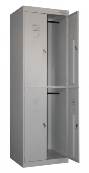 Шкаф металлический для одежды ШРK-24-600 купить на выгодных условиях в Москве